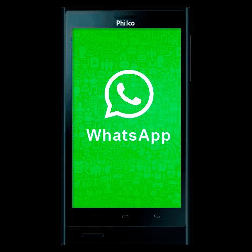 """Smartphone Philco Phone 500 - Dual Chip - 3G - 4GB - Câmera 8MP - Tela 5"""" - Android 4.0 - Preto"""